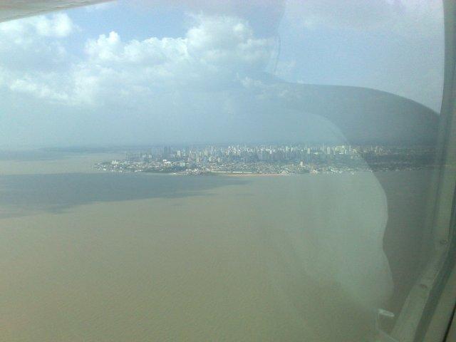 Belém, calor, 14:30h