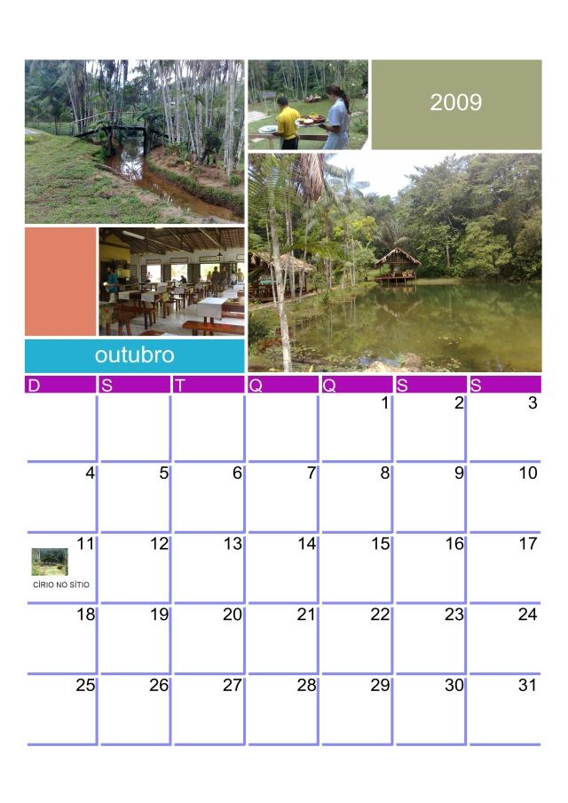 Calendário Dia do Círio